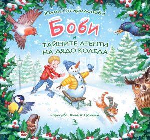 Book Cover: Боби и тайните агенти на Дядо Коледа